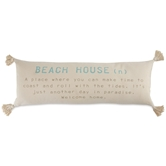 Beach House Definition Pillow