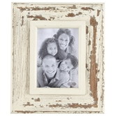 Medium White Weathered Frame
