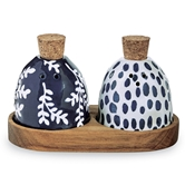 Indigo Salt & Pepper Set