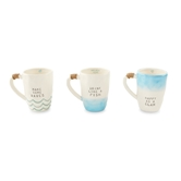 Beach Wave Ombre Mugs