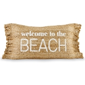 Beach Fringe Pillow