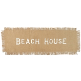 Beach House Jute Table Runner