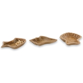 Sea Icon Wood Bowls