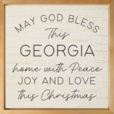 May God Bless This (Insert) Home With Peace Joy And Love This Christmas