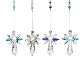 Crystal Guardian Angel-Large ASSORTMENT