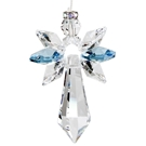 Crystal Guardian Angel™ - Large, Aquamarine