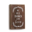 Do All Things Wall Art - 5x8.5""