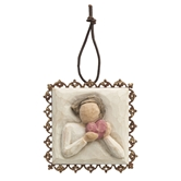 Willow Tree®, From The Heart Metal-Edged Ornament